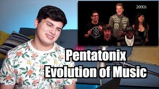 Download Vocal Coach Reaction to Pentatonix - Evolution of Music Video