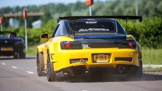 Download BEST OF JDM Tuner Car Sounds ! 700HP 2JZ Supra, Anti Lag Skyline, RX7, Lancer EVO,... Video