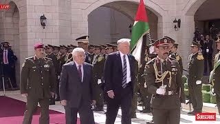 Download President Donald Trump Participates in Arrival Ceremony with President Mahmoud Abbas in Bethlehem Video