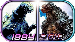 Download EVOLUTION of GODZILLA in Games (1984-2019 Godzilla King of the Monsters video game graphics history Video