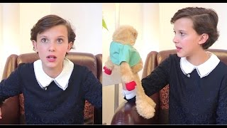Download Millie Bobby Brown guessing ″Strange Things″ from the 80's Video