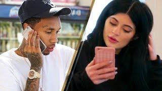 Download Kylie Jenner Receiving Tyga's Drunk Phone Messages BEHIND Travis Scott's Back!!? Video