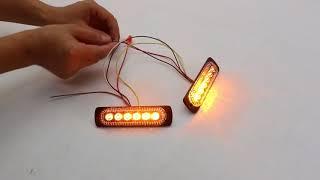 Download LB1088-6 Amber LED Surface Mount Strobe Lighthead Video