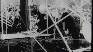Download Colonel Roosevelt is invited to fly in Arch Hoxsey's plane at St. Louis, Mo., 1910 Video