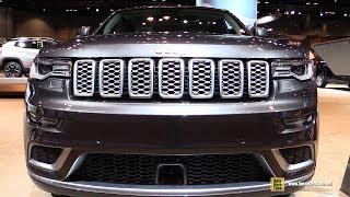 Download 2017 Jeep Grand Cherokee Summit California - Exterior Interior Walkaround - 2017 Chicago Auto Show Video