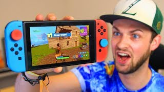 Download You've *NEVER* seen THIS before... (Fortnite: Battle Royale Nintendo Switch) Video