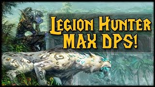 Download Legion Hunter MAX DPS Guide For Mythic Dungeons! Video