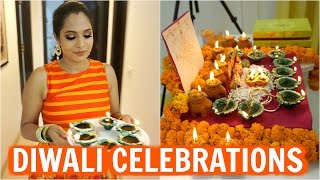 Download Diwali Celebrations | **Traditional** Day In My Life | ShrutiArjunAnand Video