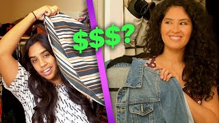 Download Women Find Out How Much They Spent On Clothes in Their Closets Video