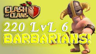 Download كلاش اوف كلانس: مسح ثلاث نجوم بالبربري | Clash of Clans: 3 Star BarBariAns Video