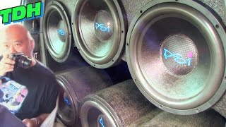 Download EXTREME CAR AUDIO @ TDH 2015 w/ Big BASS FLEX & Loud Subwoofer Songs / Demo Reactions Video