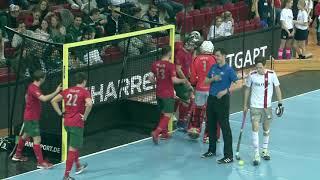 Download 1. Halbfinale 57. DM Hallenhockey Herren CadA vs. CHTC 04.02.2018 Stuttgart Highlights Video