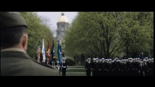 Download Notre Dame ROTC Pass In Review Video
