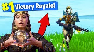 Download Using a FORTUNE TELLER To *WIN* In Fortnite Battle Royale! Video