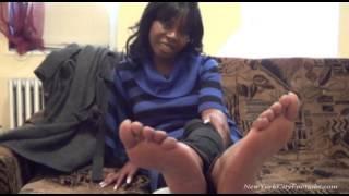 Download Footjob Audition Ebony Soles Video