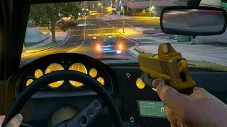 Download Next Gen GTA Online - Driving in First Person! (Grand Theft Auto PS4 Gameplay) Video