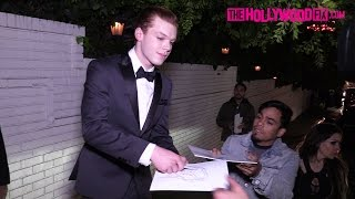 Download Cameron Monaghan Draws The Joker For Fans While Leaving The GQ Men Of The Year Party 12.8.16 Video