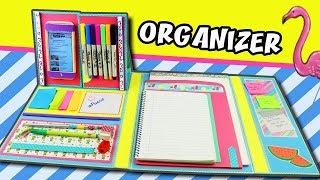 Download DIY FOLDER ORGANIZER - BACK TO SCHOOL   aPasos Crafts DIY Video