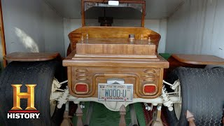 Download American Pickers: This Wooden Model T Belongs in a Museum! | History Video