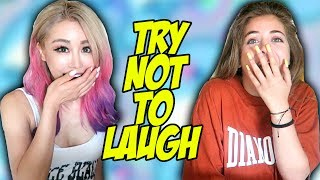 Download Try Not To Laugh Challenge With Baby Ariel Video