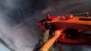 Download Crane Climb over Letchworth State Park Video