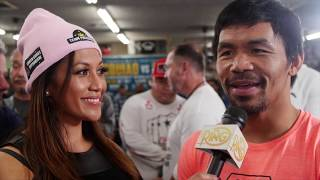 Download Manny Pacquiao on Adrien Broner's KO prediction: ″Easy to say, hard to do. It will not happen.″ Video