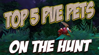 Download Ravenclaw - ″On The Hunt″ TOP 5 PVE Common to Rare hunter pets WoW Legion 7.0.3 Video