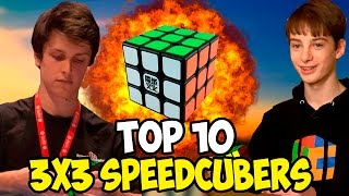 Download Top 10 3x3 Speedcubers 2016 Video