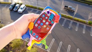 Download Can Balloons Protect an iPhone 6S Plus from 100 FT Drop Test? Video