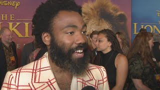 Download Donald Glover Admits His Son Is Excited to See 'Lion King' Because of BEYONCE (Exclusive) Video