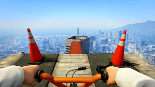Download INSANE FIRST PERSON STUNT RACES! (GTA 5 Funny Moments) Video