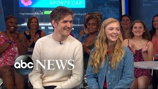 Download Bo Burnham and Elsie Fisher say you should sit far away from your parents during 'Eighth Grade' Video