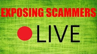Download EXPOSING SCAMMERS LIVE STREAM (ruined by script kiddies) Video