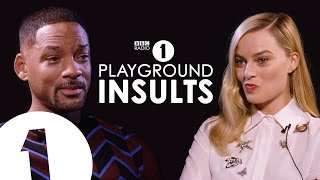 Download Will Smith & Margot Robbie Insult Each Other | CONTAINS STRONG LANGUAGE! Video