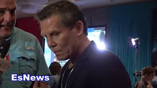 Download Julio Cesar Chavez Talks to Seckbach About Canelo vs GGG EsNews Boxing Video