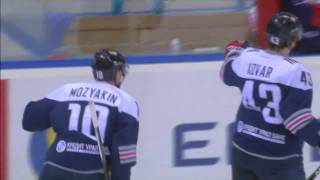 Download Mozyakin scores his 37th of the season, updating KHL all-time record Video