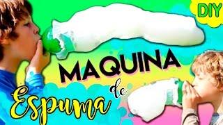 Download MÁQUINA de ESPUMA casera * GUSANO de JABÓN gigante Video