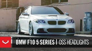Download BMW F10 5 Series 550i on 20″ Vossen VVS-CV4 Concave Wheels / Rims Video