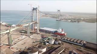 Download Maputo bridge - drone flight - September 2017 Video