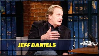 Download Jeff Daniels Explains the Challenges of Horseback Riding with One Arm Video