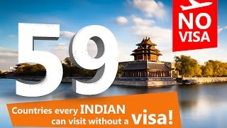 Download 59 countries visit without visa from India Video