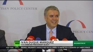 Download Colombia's President-Elect Comes to Washington DC Video