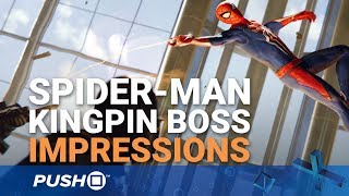 Download Marvel's Spider-Man PS4: Kingpin Boss Fight Gameplay Explained   PlayStation 4   PS4 Pro Gameplay Video