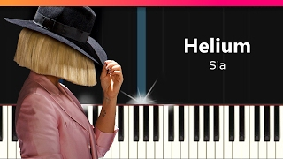 Download Sia - ″Helium″ EASY Piano Tutorial - Chords - How To Play - Cover Video
