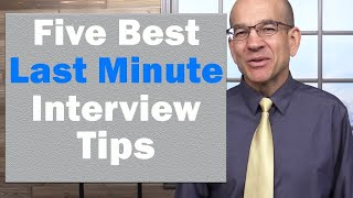 Download 5 BEST Interview Tips - the ultimate formula to interview success Video