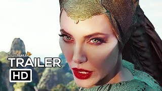 Download MALEFICENT 2: MISTRESS OF EVIL Official Trailer #2 (2019) Angelina Jolie, Disney Movie HD Video