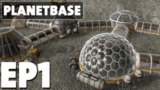 Download Let's Play Planetbase Overwhelming Episode 1 - Class M/Third Planet - Version 1.0.0 Video