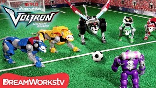 Download Voltron Soccer Showdown [STOP MOTION] | DREAMWORKS VOLTRON LEGENDARY DEFENDER Video