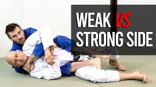 Download Back Attacks: What's the Best Way to Control the Back in BJJ (Strong vs Weak Side)? Video