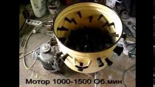 Download Самодельная перосъемная машина из кастрюли (перощипка) Video